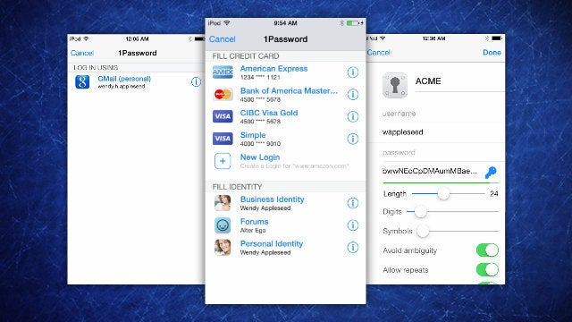 1Password for iOS Gets Extension Improvements for Faster Logins