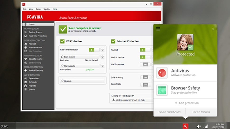 Five Best Desktop Antivirus Applications