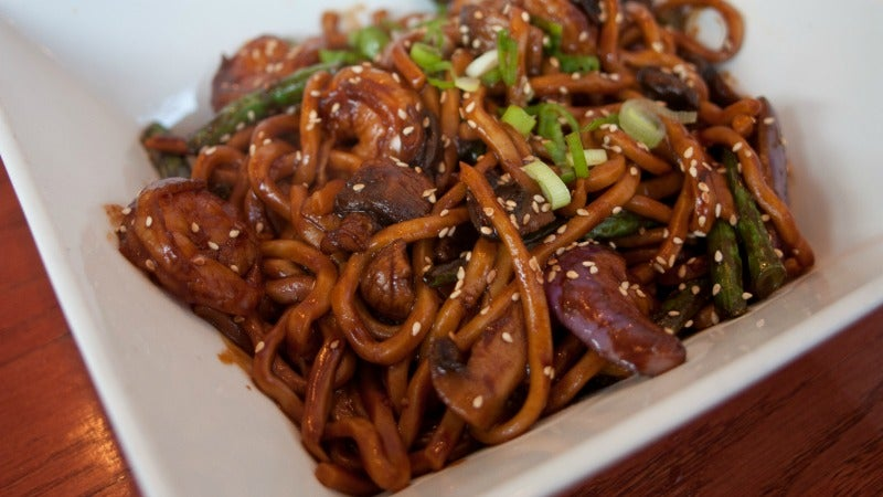 Make Delicious Eggplant Noodles Without Any Special Tools