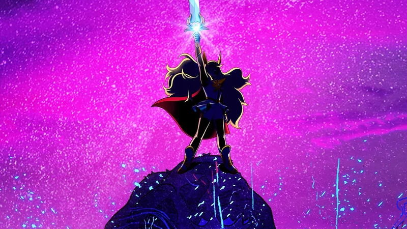 The She-Ra Reboot Debuts The First Shadowy Look At The New Princess Of Power