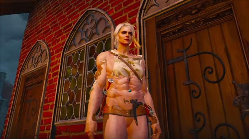 Witcher 3 Brothel Glitch Results In Sexy Weirdness