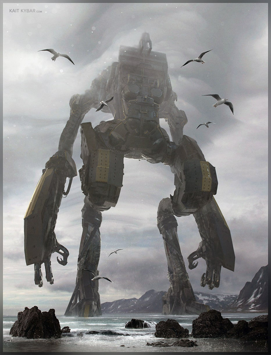Shadow Of The Colossal Robot