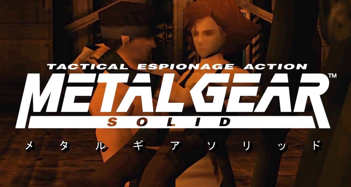 Metal Gear Solid, Only With An Anime Intro
