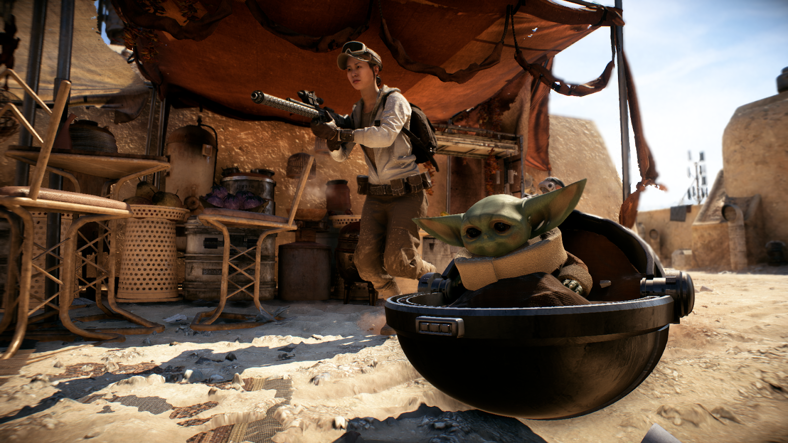Baby Yoda Mod Is Here To Wreck Shit In Battlefront II
