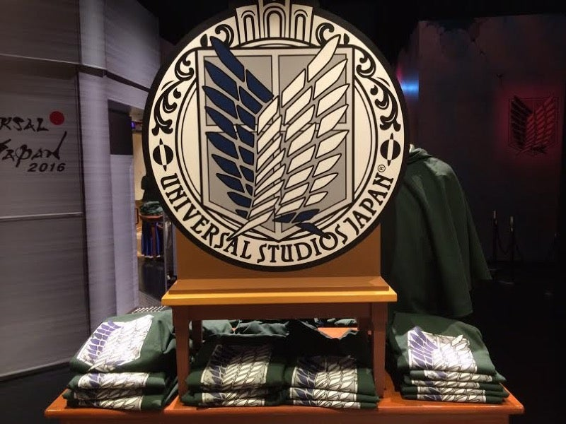 Inside Japan's Attack on Titan-Themed Shop