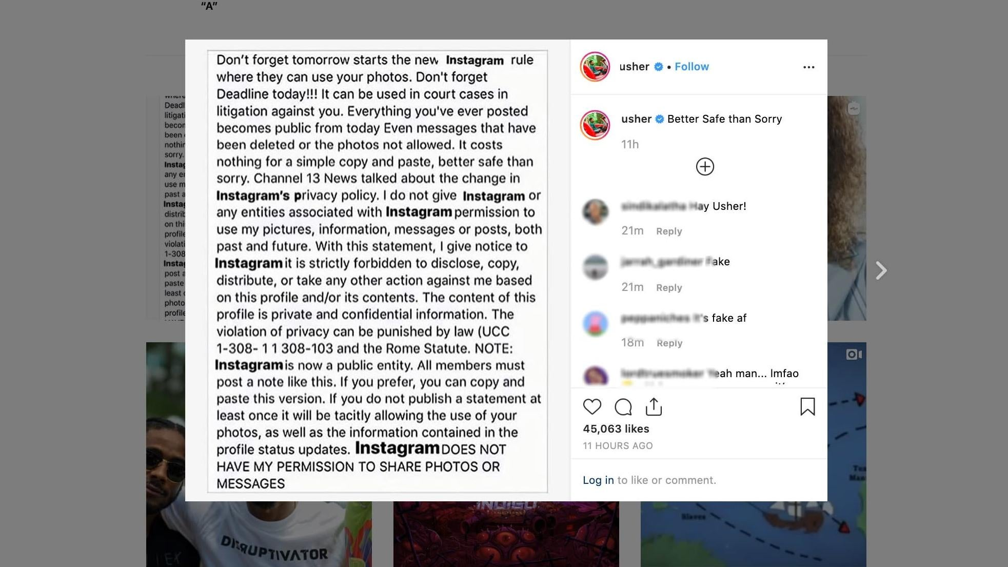 Instagram Chief Debunks Copyright Apocalypse Hoax As Spread Reaches Top Levels Of Government