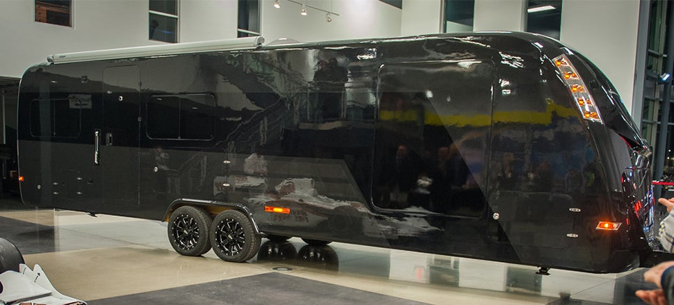 The Carbon Fibre Trailer Batman Takes on Vacation