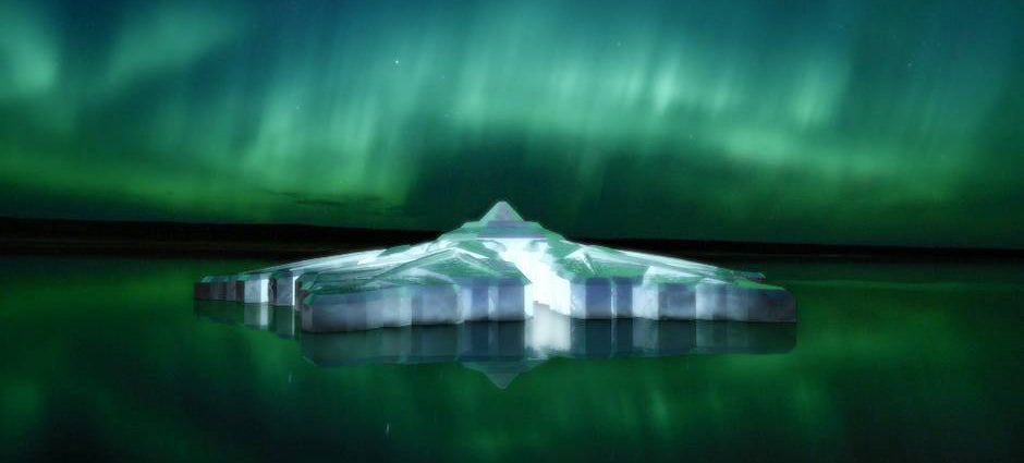 This Floating Glass Hotel Will Let You See Northern Lights in Luxury