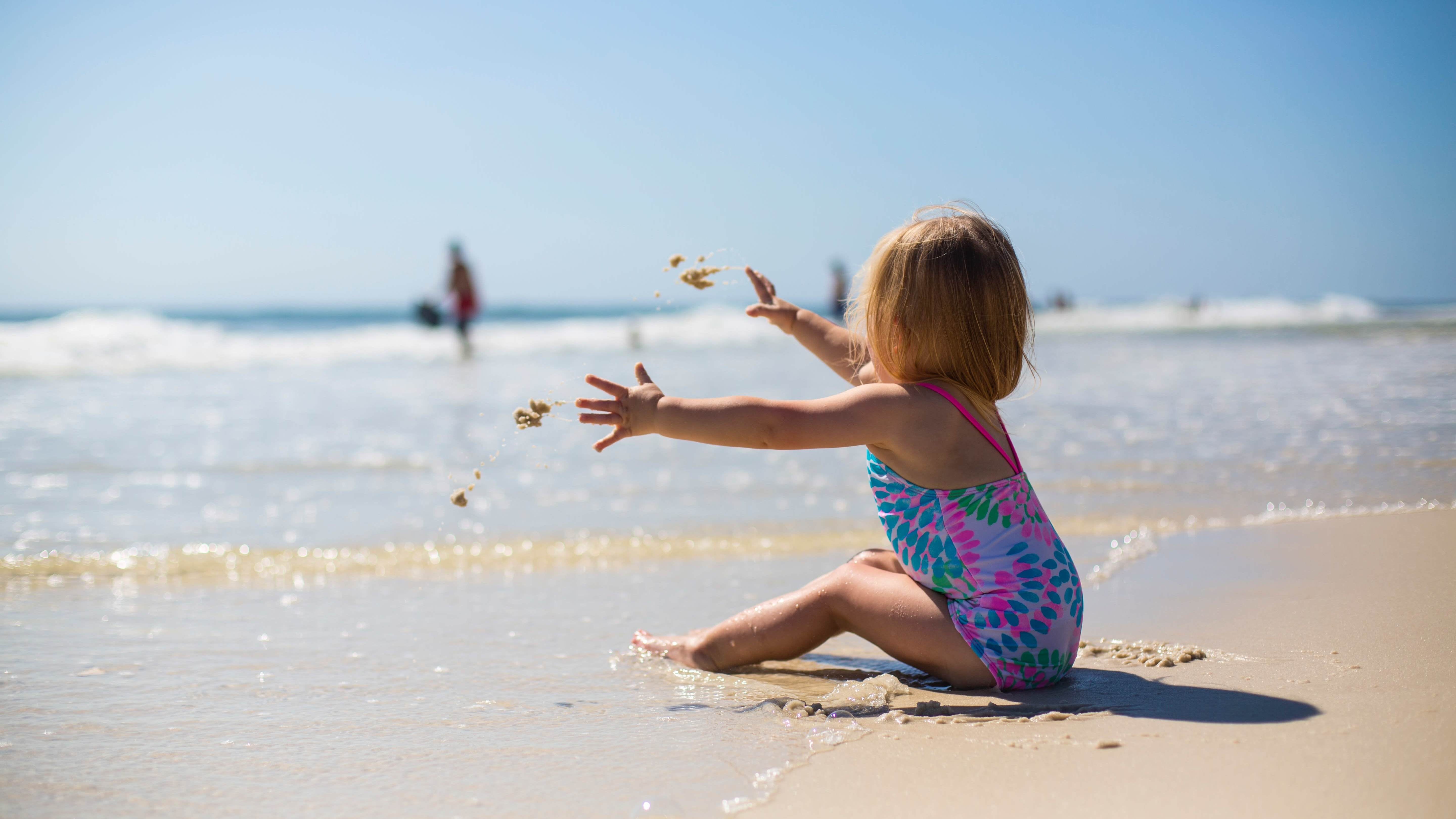How To Get Sunscreen On Your Kid Without A Battle