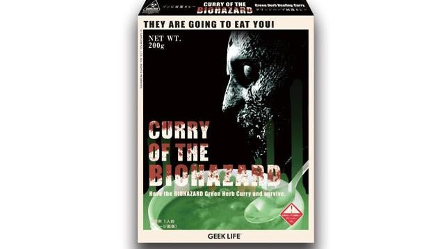 Resident Evil: The Official Curry