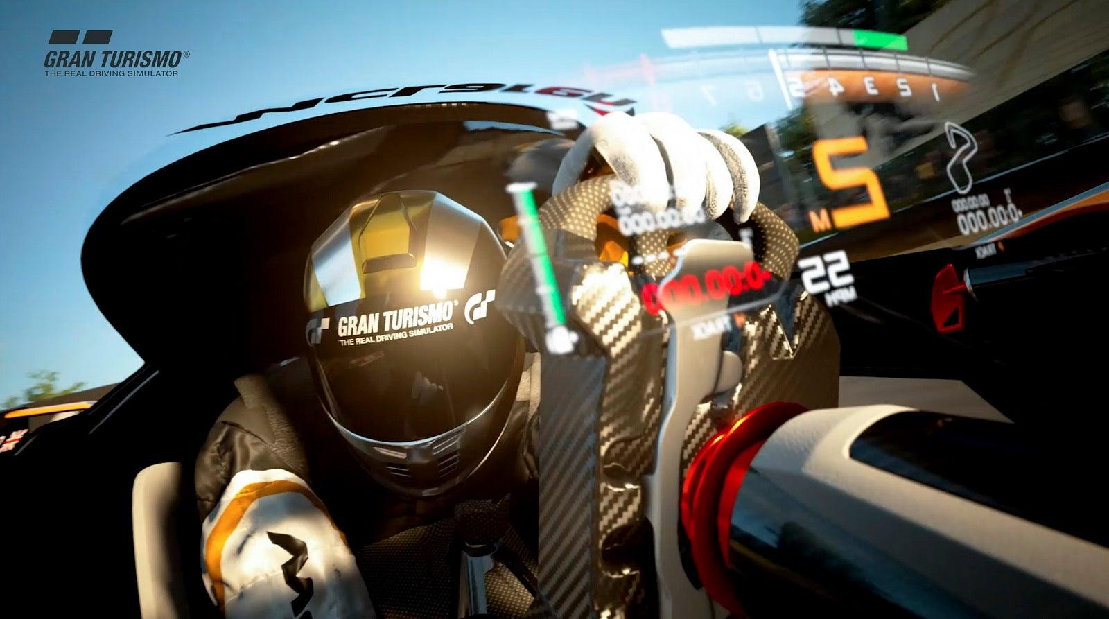 You Don't Sit Inside McLaren's Wild Gran Turismo Concept