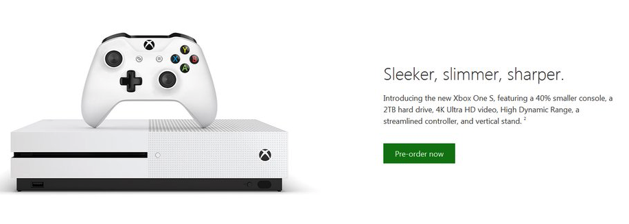 Xbox One Slim Leaks, Will Be 40% Smaller Than Xbox One