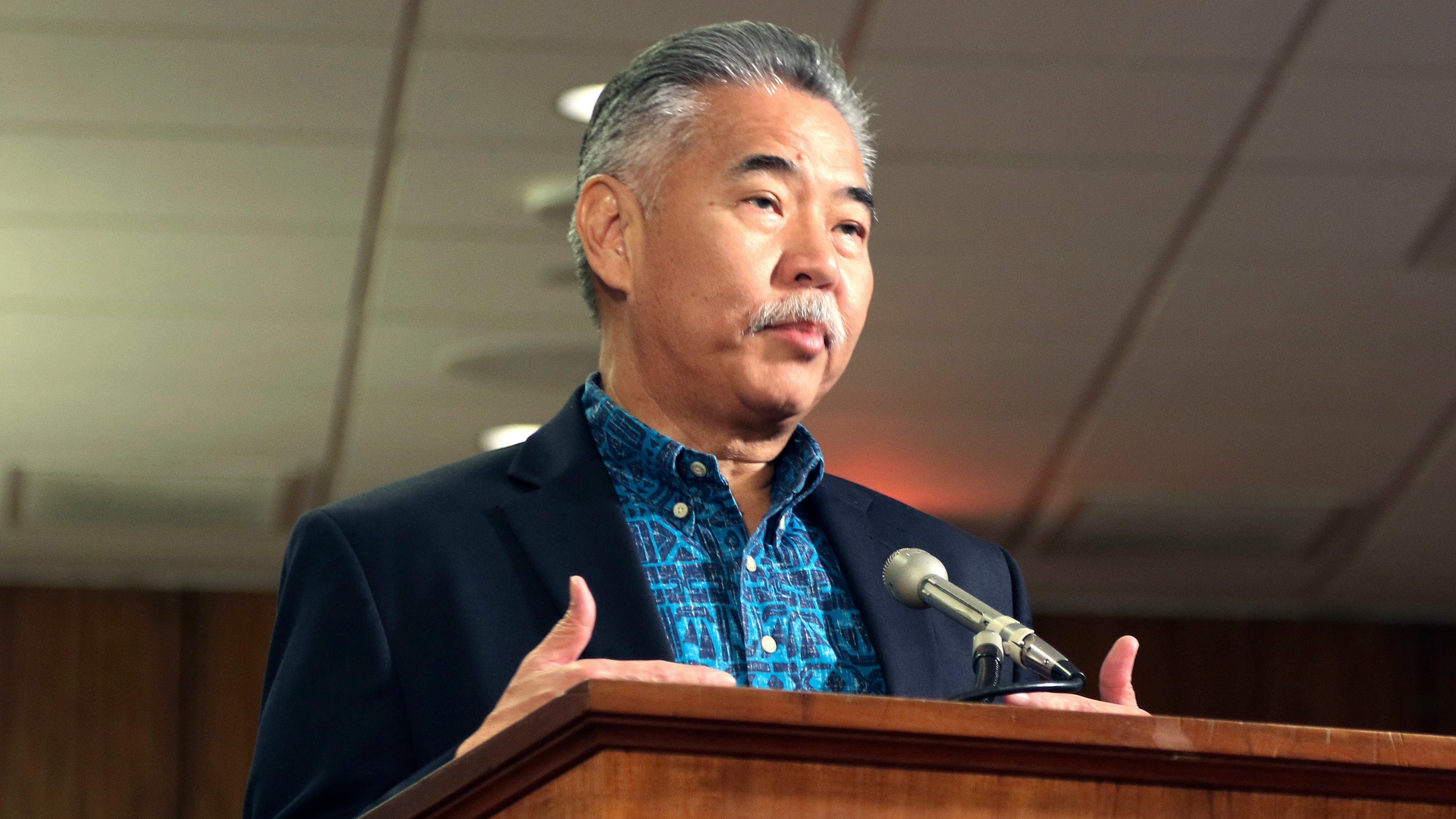 Hawaii Gov David Ige Forgot His Twitter Password During That Fake Ballistic Missile Alert