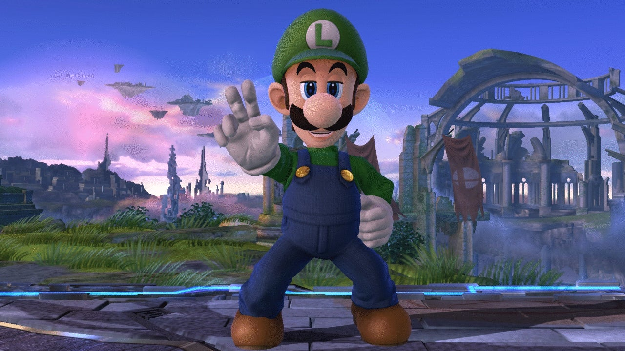 Luigi Beats New Smash Bros. DLC Characters By Doing Absolutely Nothing