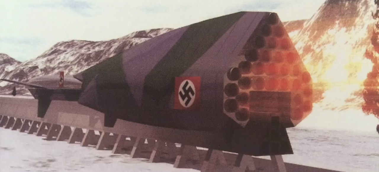 The Supersonic Nazi Rocket Concept Designed to Bomb Any City in 1 Hour