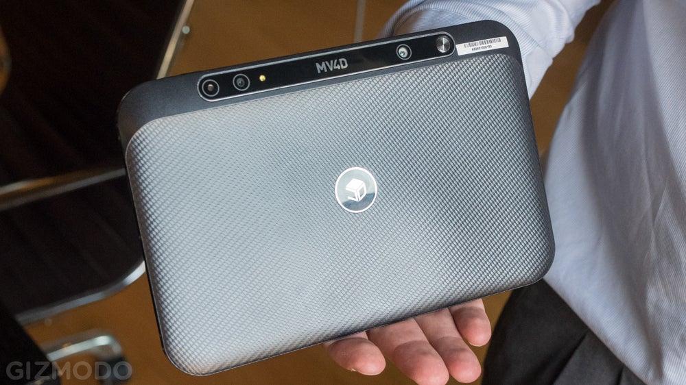 Mantis Vision's 3D-Sensing Tablet Could Help Anyone Make VR-Ready Video