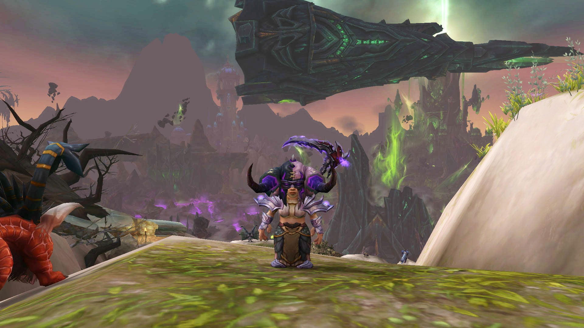 Taking The Battle To The Burning Legion In World Of Warcraft Update 7.2