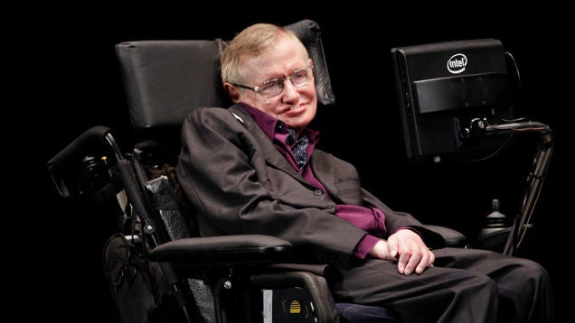 Stephen Hawking on Space Colonization, Villainy, and Predictive Text