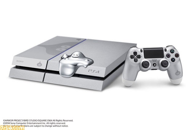 A Special PS4 Covered in Metal Slime
