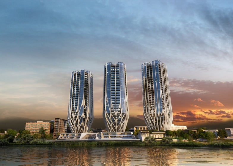These Alien Skyscrapers Will Rest on the Site of an Old Uranium Plant
