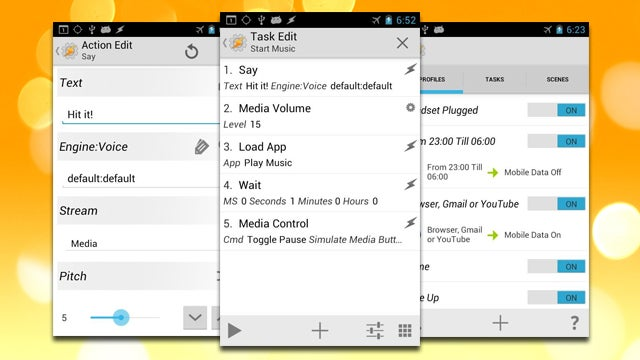 Tasker Adds Support for KitKat SMS Listening, Plugin Search, More
