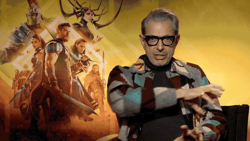 Jeff Goldblum's Quick Summary Of Thor: Ragnarok Is 10 Seconds Of Pure Gold(blum)