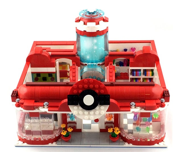 LEGO Pokémon Center Has All The Goodies A Trainer Needs