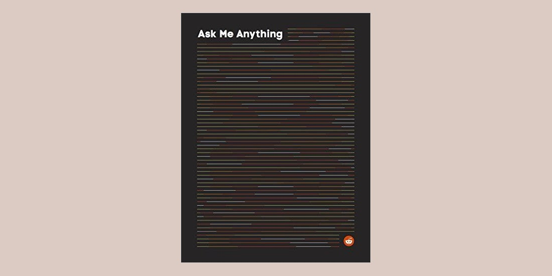Reddit's Made an Actual Book of Its AMAs, But It will Cost You $US35 ($50)