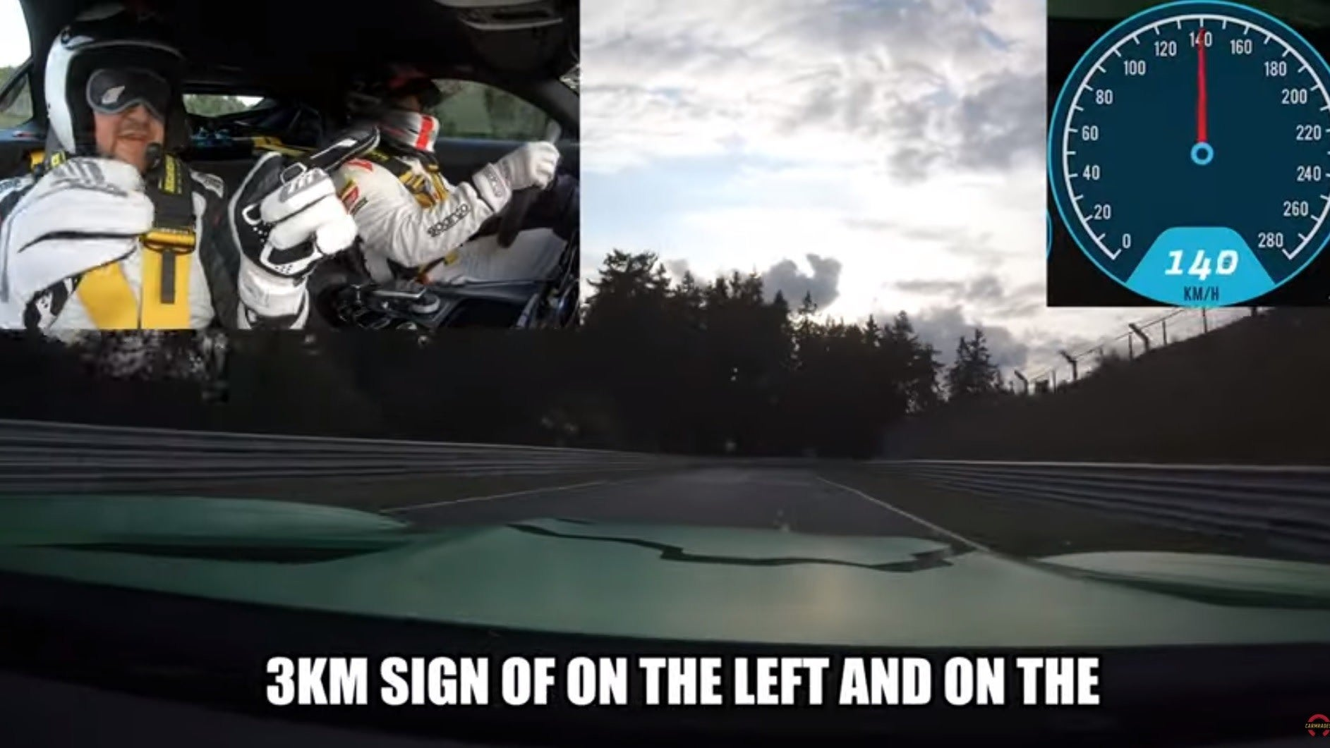 Watch This Hero Blindly Navigate The Entire Nürburgring