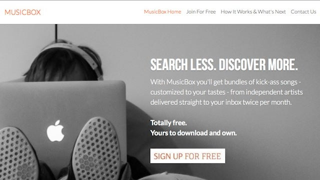 MusicBox Delivers New, Free Music to Download Twice Every Month
