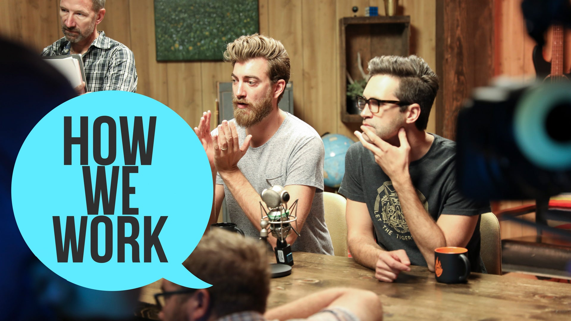 We're Rhett & Link, And This Is How We Work