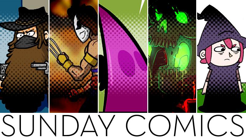 Sunday Comics: Assistance Please!