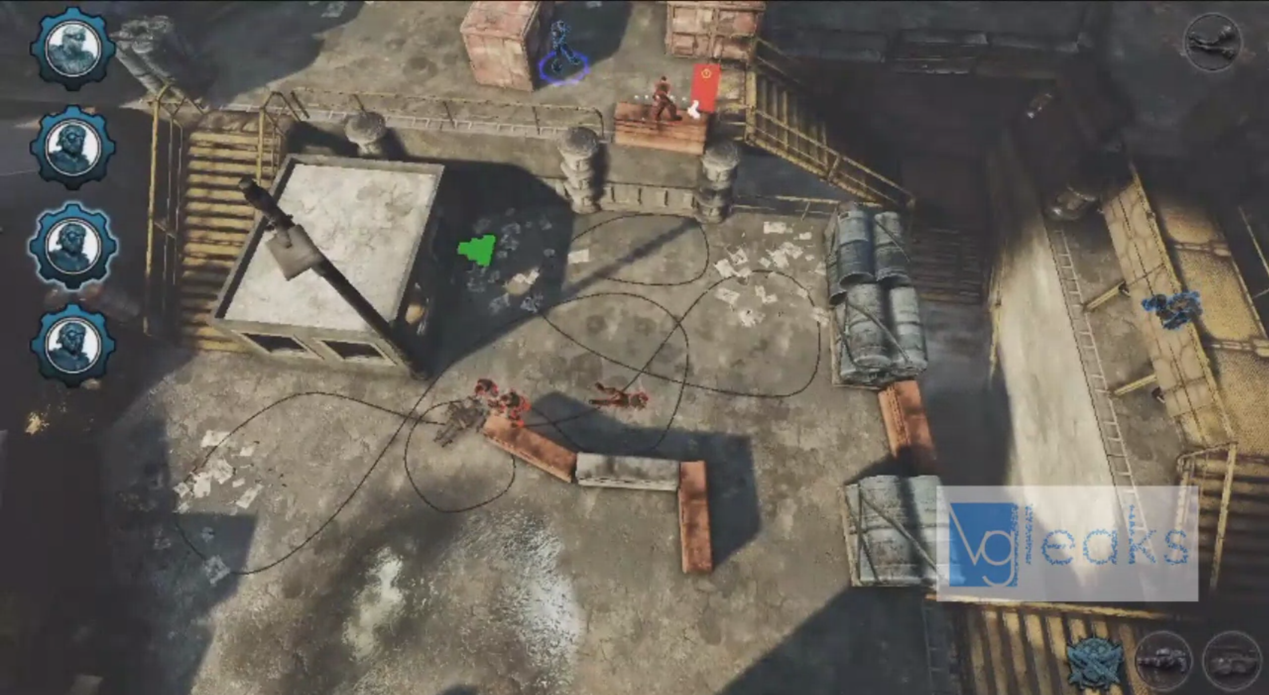 Leaked Video Shows Kinect-Controlled Gears of War Strategy Game