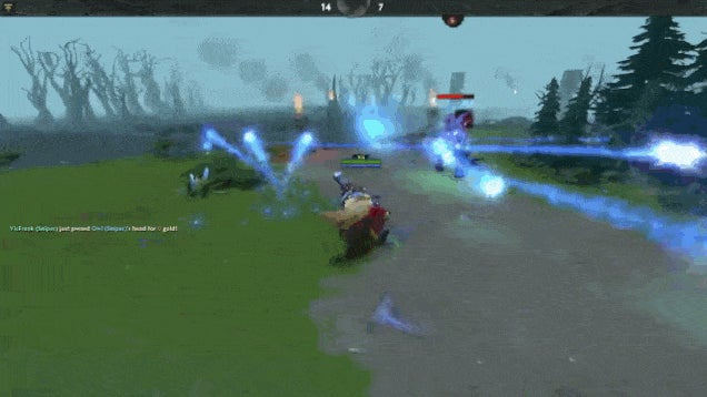 Mod Turns Dota 2 Into A Third-Person Shooter