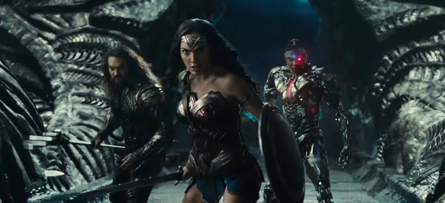 New Footage From Justice League, Wonder Woman And Aquaman Hits All The Right Notes