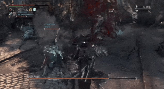 There Are Way Too Many People In This Bloodborne Fight