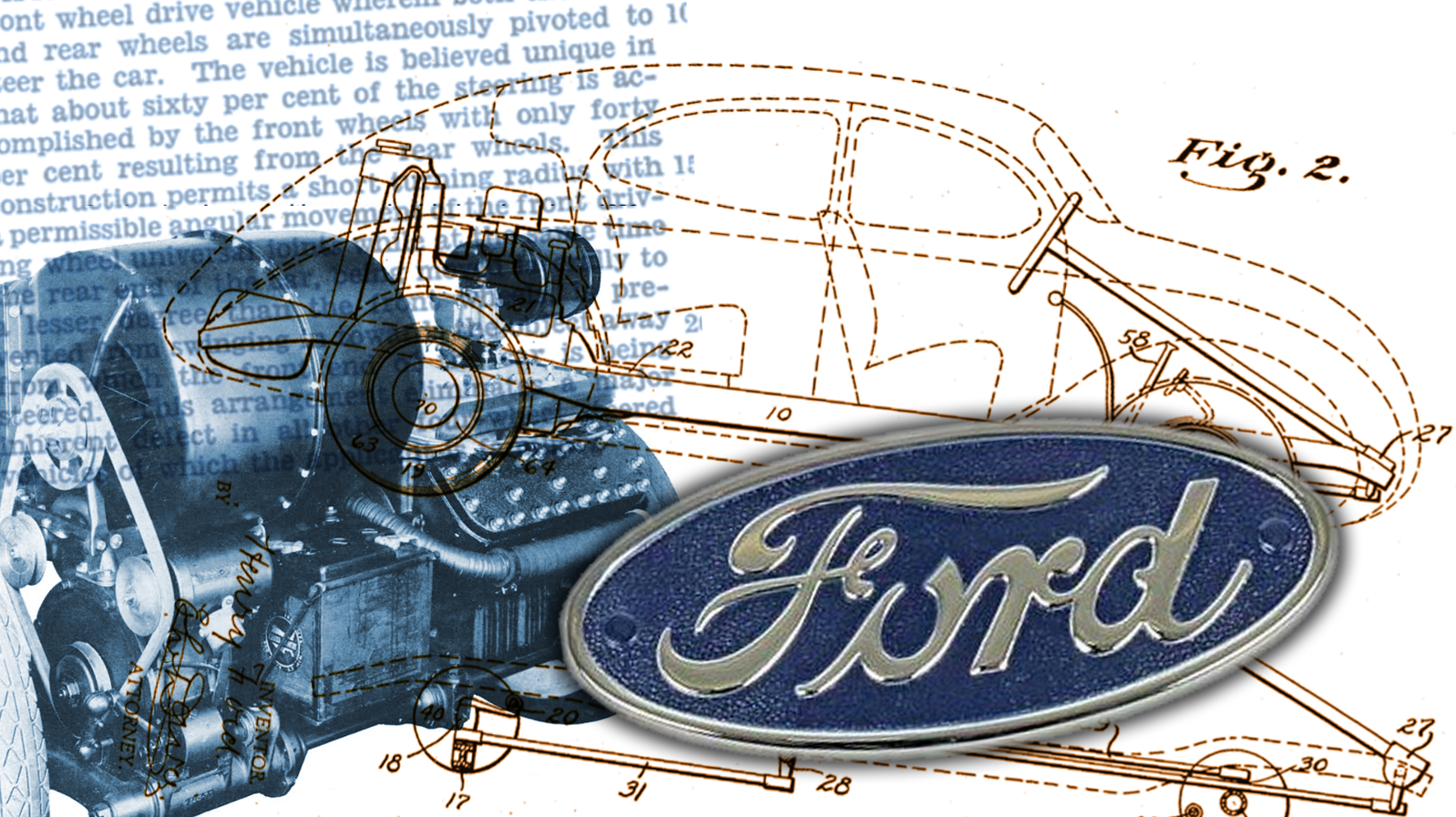 Ford Once Took A Patent On A Car With The Craziest And Least-Used Car Layout Ever