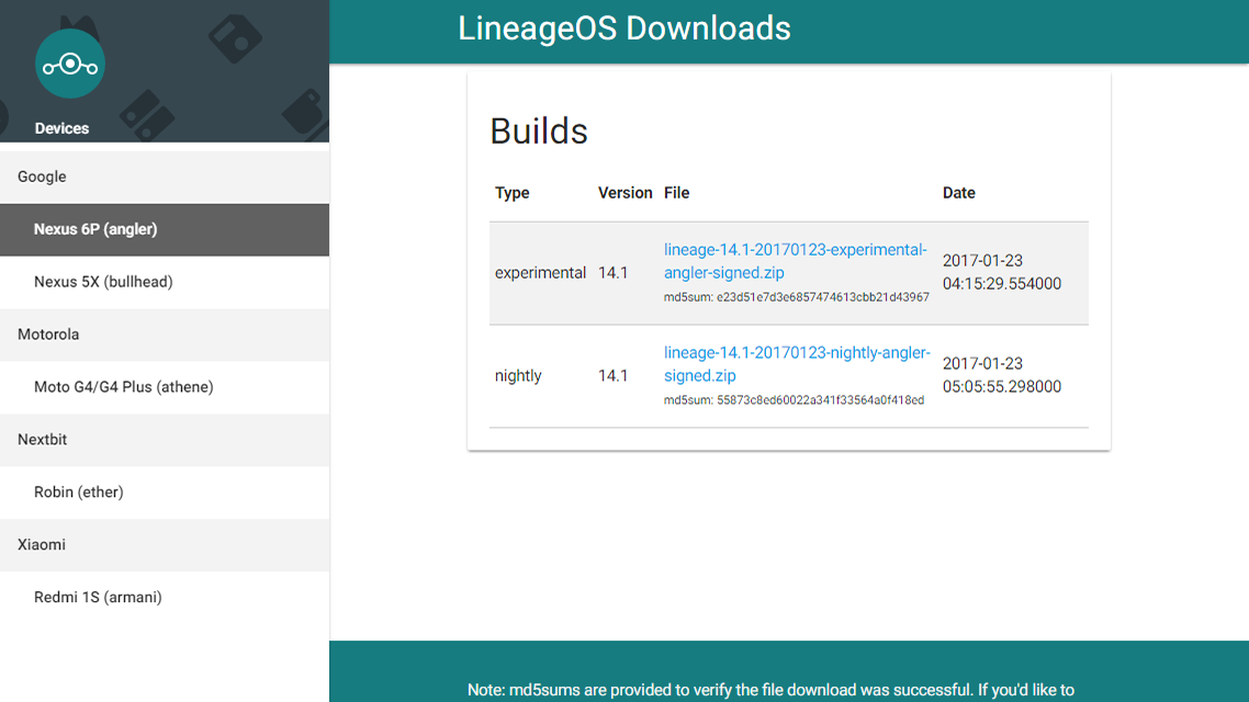 The First Builds Of Lineage OS, CyanogenMod's Successor, Are Now Live