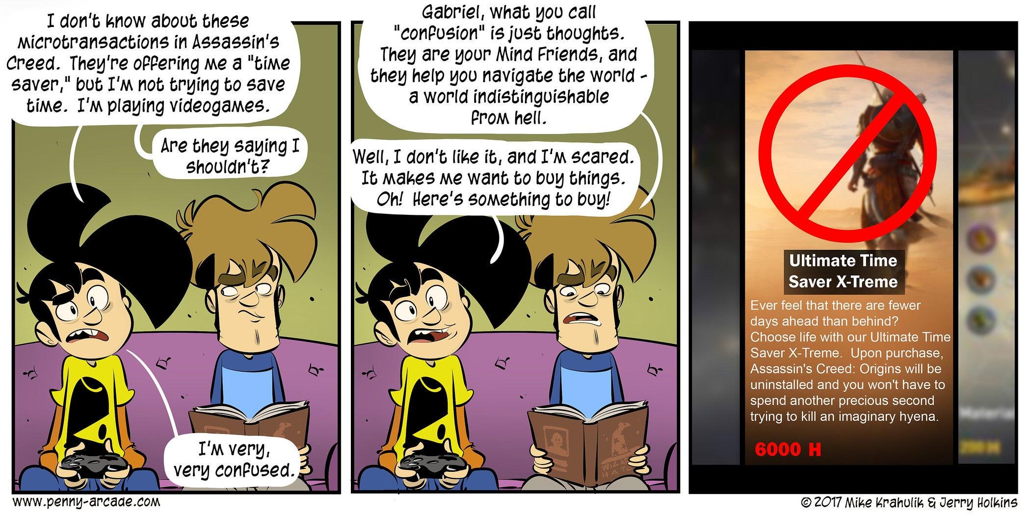 Sunday Comics: Nesting With Sin | Kotaku Australia