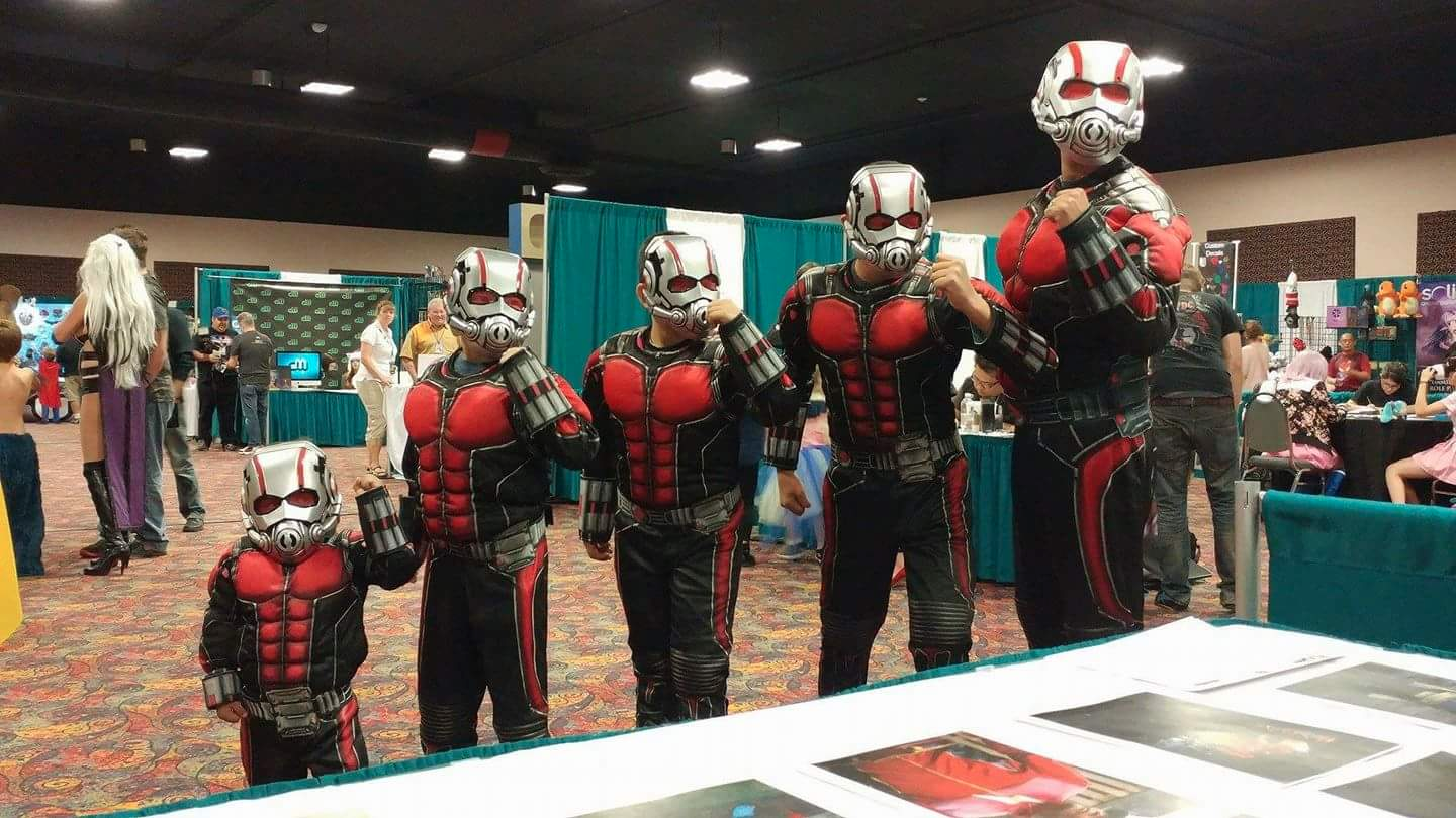 This Is The Best Group Ant-Man Cosplay You'll Ever See