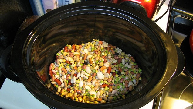 Make Beans in a Slow Cooker Instead of Boiling Them