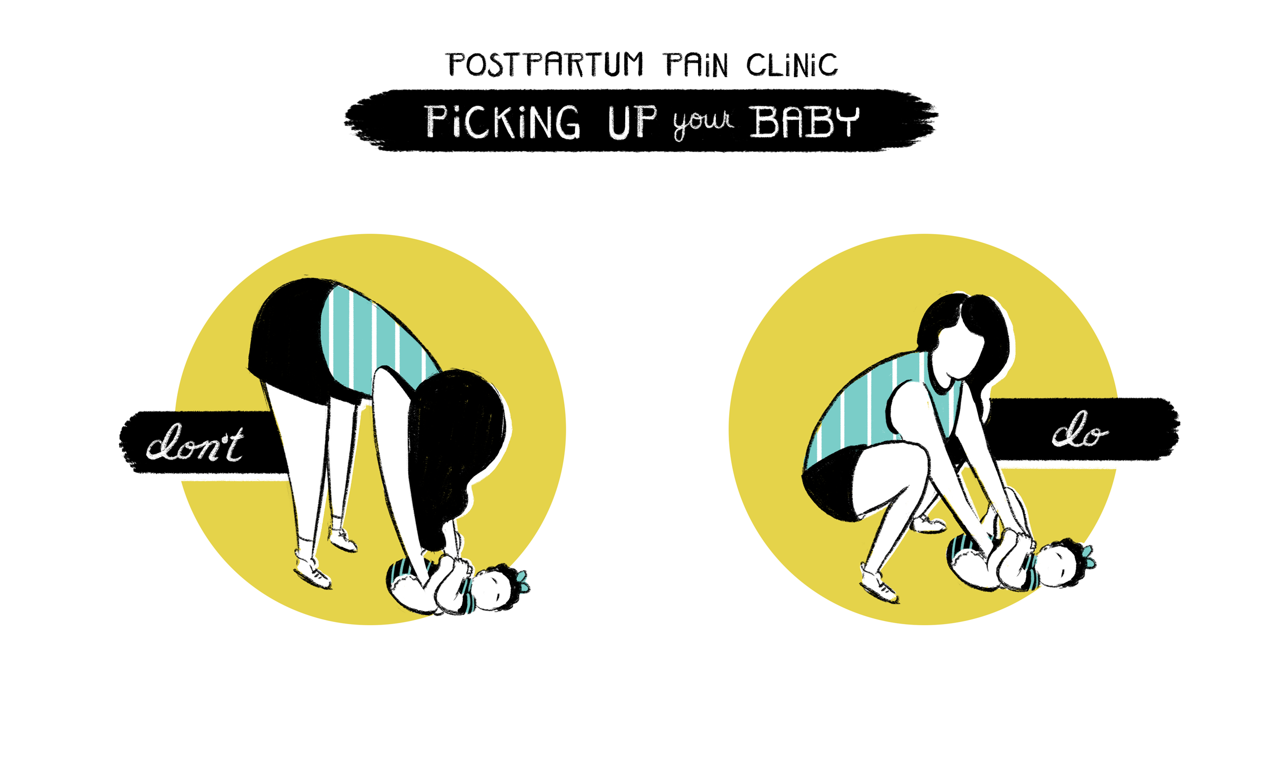How To Pick Up A Baby Without Hurting Your Back