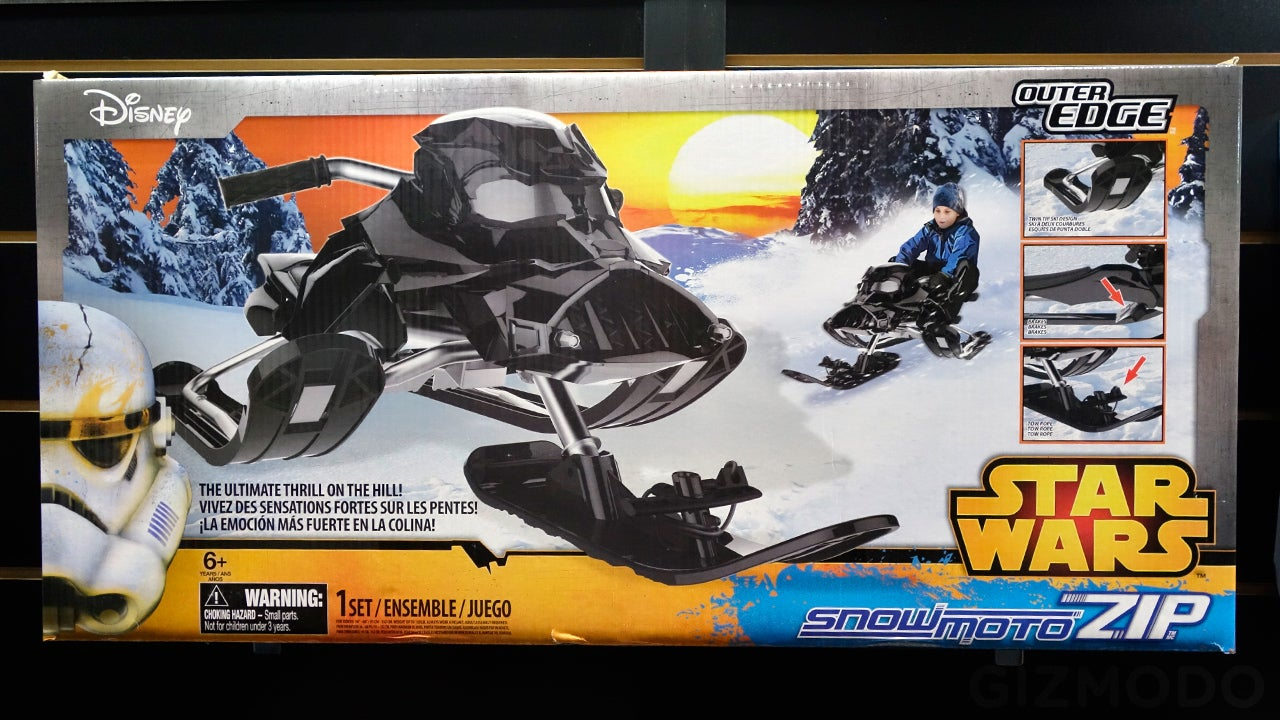 This Vader-Faced Sled Is the Best Way To Get Around Hoth, Not an AT-AT