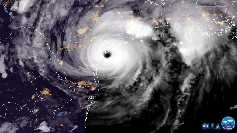 Hurricane Harvey Floods, Thrashes Southeast Texas After Making Landfall