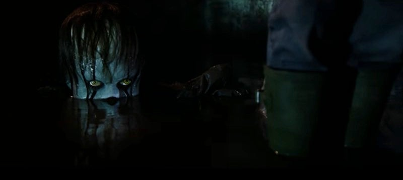 The First It Teaser Is Here, And Pennywise Looks Scary As Hell
