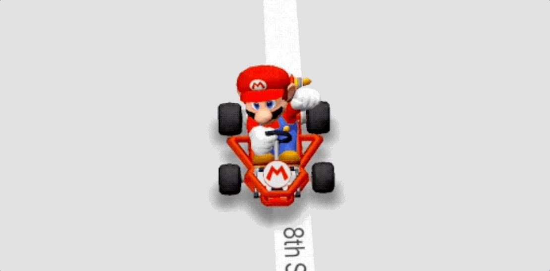 google kart How To Turn Google Maps Into Mario Kart | Lifehacker Australia google kart