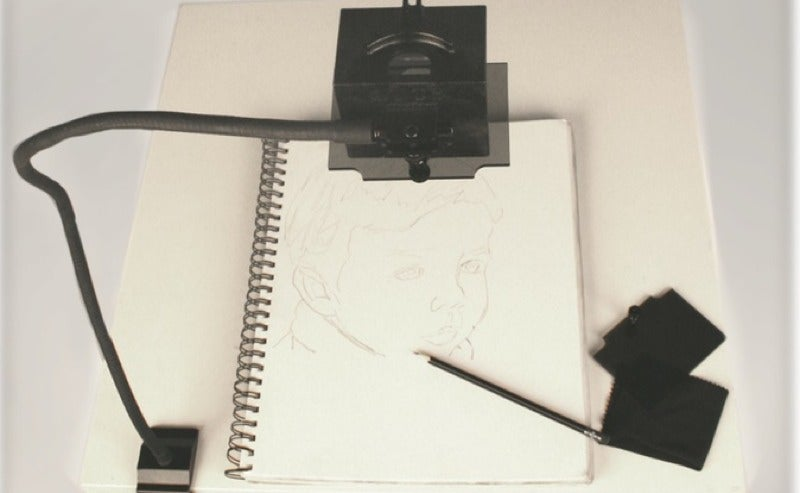 Aspiring Artists Can Make Like a Dutch Master with the LUCY Drawing Tool