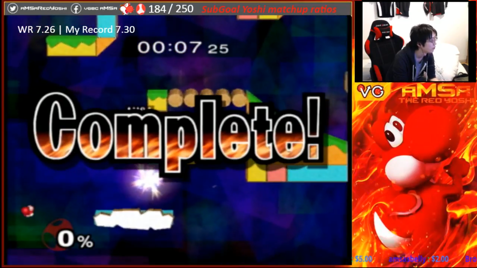 Melee Pro Beats Yoshi Target-Breaking Record By Fraction Of A Second