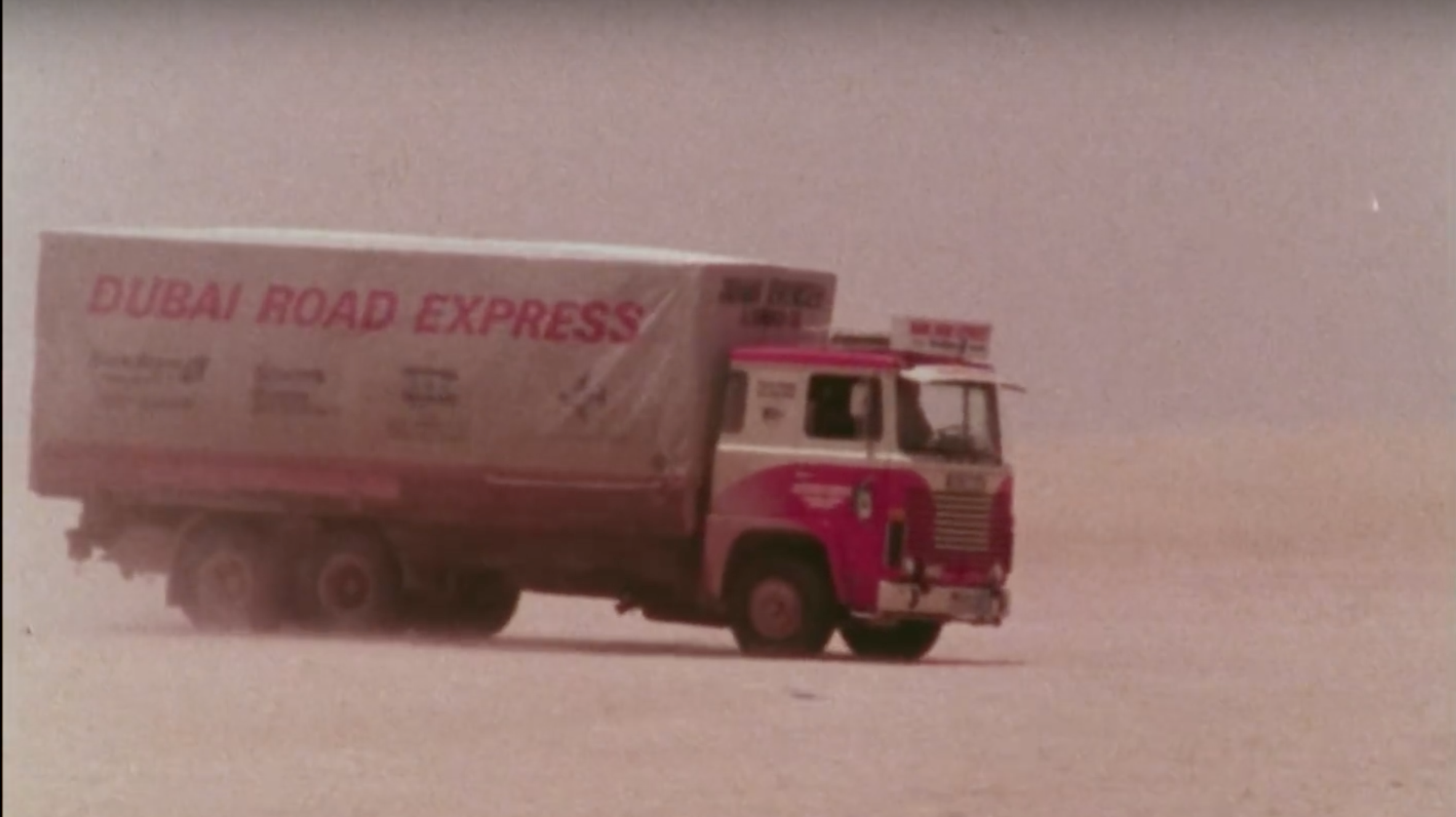 Here's How Truckers Drove From Scandinavia To Dubai In 1976