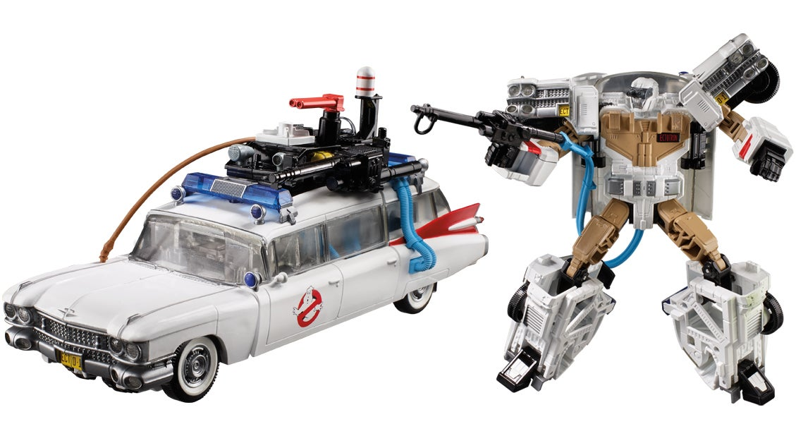 Transformers Meets Ghostbusters In This Totally Tubular '80s Toy Mashup